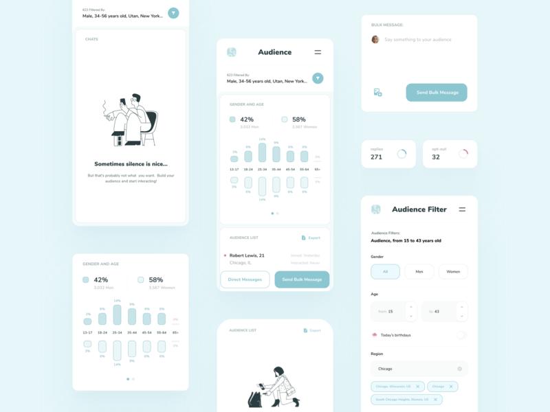 tuo — Mobile App UI