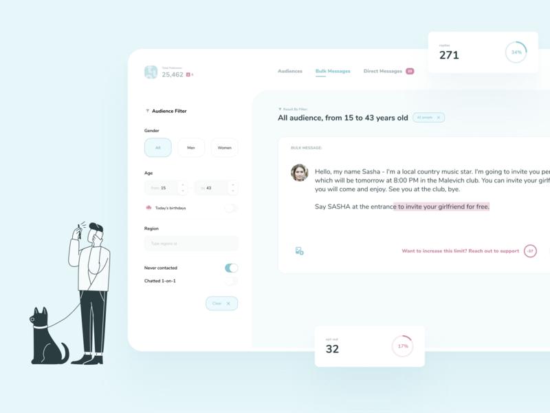 tuo — Desktop Web App UI