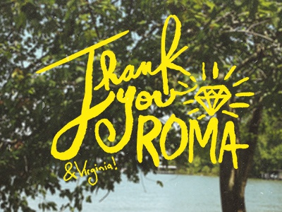 Thank you roma dribbble