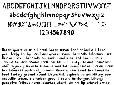 Bookshelf Font sans serif typeface file hand drawn font lettering ttf otf sans serif