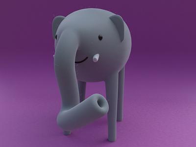 Jess practice cinema4d 3d modeling cute animation motion design cartoon illustration