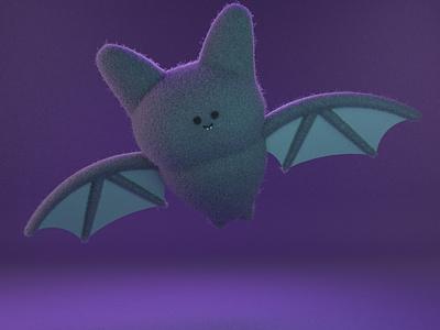 Aubrey, the cute bat gal bat arnold renderer arnold practice cinema4d 3d modeling cute animation motion design cartoon illustration