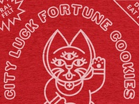 City Luck Fortune Cookies T-Shirt