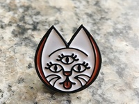 City Luck Logo Enamel Pin