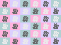 Kitty Pattern!