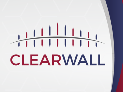 Clearwall Logo adobe illustrator graphic design logo design