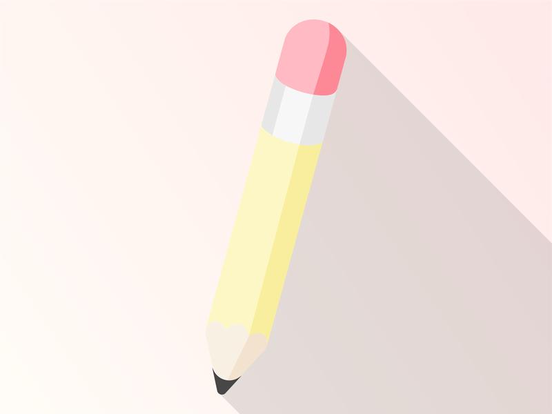 Pencil Illustration rebound illustration adobe illustrator