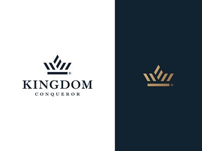 Crown design logo throne fancy elegant luxury gold princess prince kingdom king crown