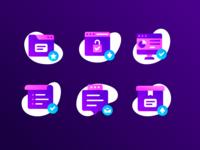 e-commerce icon concept.