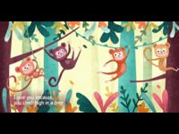 Whimsical children book illustration