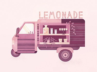 Lemonade illustratio lemonade summer muffin adobeillustrator bar car