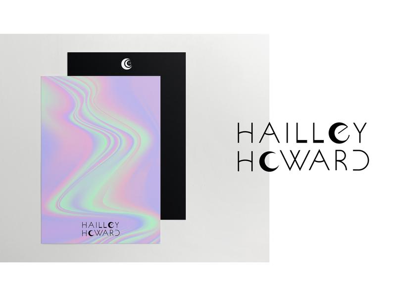 Hailley Howard Branding – Part 3 wordmark logo black and white logo minimalism photography branding photography logo photography moon custom type typography logo brand identity branding