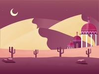 Arabian Nights - Illustration