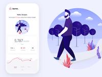 Burrn - Activity Tracker App