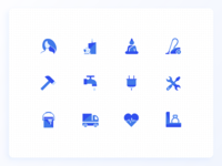 [WIP] New Icon Set | UrbanClap