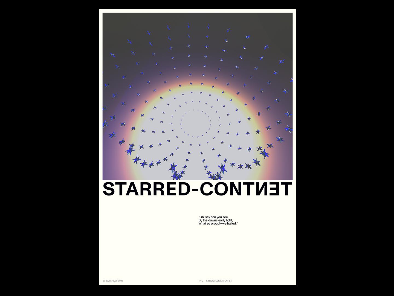STARRED CONTENT maya maya 3d illustration design poster type 3d
