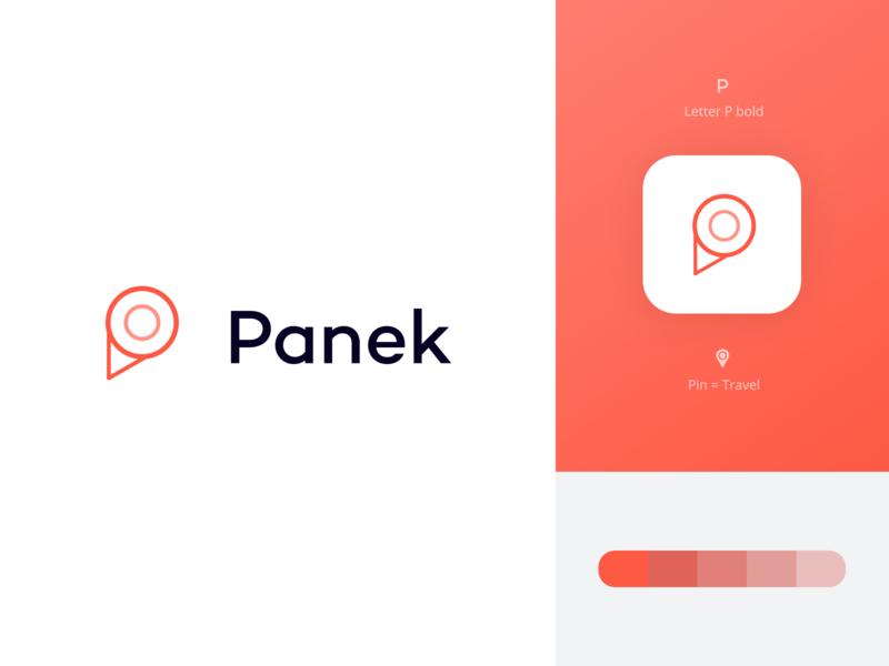 Panek CarSharing - logo redesign concept ios basic ui icon typography logo branding graphic design