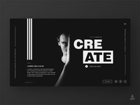 """Innovate and Create"" landing page"