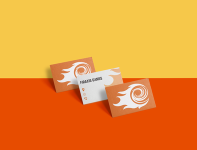 Firaxis Rebranding | Business Card