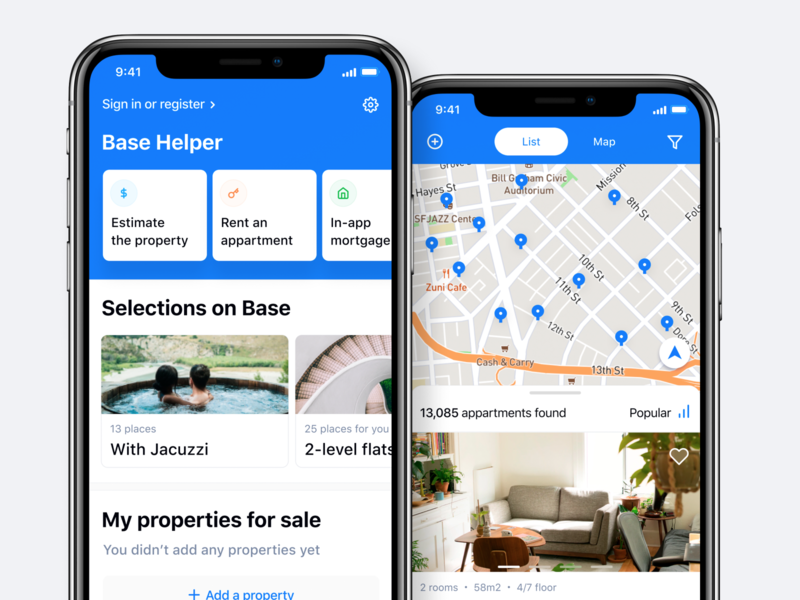 Base - Buy & Sell Property App