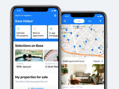 Base - Buy & Sell Property App house logo houses property marketing property management housing airbnb rent apartment house property bitcoin financial minimal freelance crypto animation mobile ios fintech iot