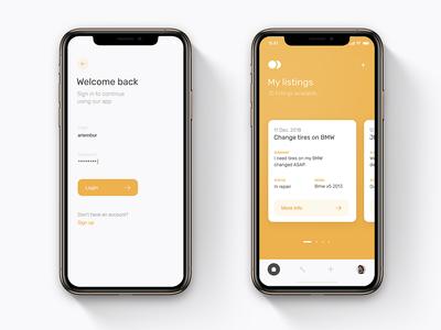 Car Service - Mobile App