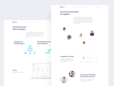 Hireground - a Platform to Connect Buyers and Suppliers
