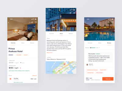 Hotel Booking - Mobile Application and Web Service