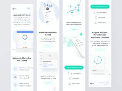Pei App - Merchant Website Mobile Version