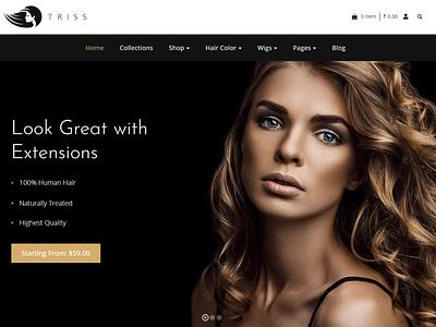 Triss - Beauty Cosmetics Shop theme cosmetictemplate beautywebdesign cosmeticwebdesign cosmeticwebsite wordpress