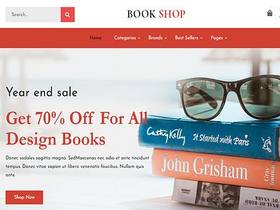 Bookly - Bookstore Shopify Theme theme design website design wordpress responsive