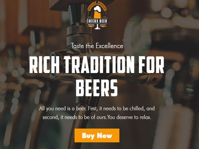 Cheerx - Alchocol & Liquor Store Shopify Theme business theme ecommerce web design responsive