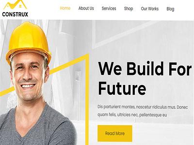 Construx – WordPress Construction Theme ecommerce business responsive website web design