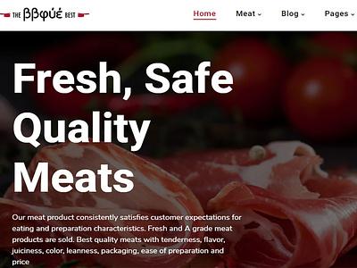 BBque - Food, Butcher & Meat Shop Shopify Theme ecommerce wordpress business responsive web design
