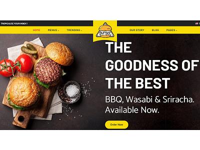 Burgs - Food Delivery & Restaurant Shopify Theme burger shop theme design responsive