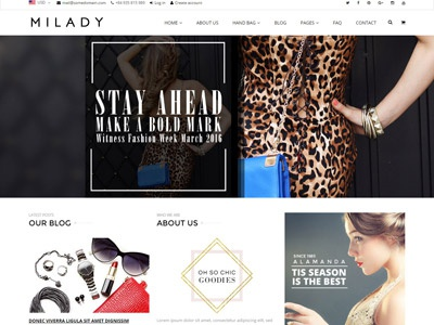 Shopify Fashion Multi purpose Theme - Linda website ecommerce responsive theme shopify accessories kids fashion