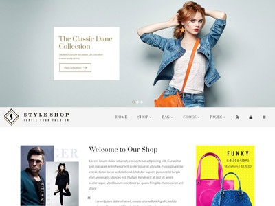 Hi Fashion | Multi-purpose Shopify Store Template website design web design website clothes fashion theme shopify multipurpose
