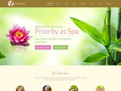Priority - Multipurpose Responsive WordPress Theme ecommerce responsive theme wordpress business hotel fashion travel spa education