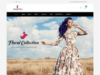 Classy Missy - eCommerce, WordPress Fashion Shopping Theme website design web design fashion responsive theme wordpress ecommerce shopping