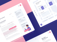 Edit Documents - UI Design notes web application editing tools assistance platform transaction dtail studio dashboard design widgets real estate planning reports and data review edit collaboration document management ui  ux illustration interaction interface analytics