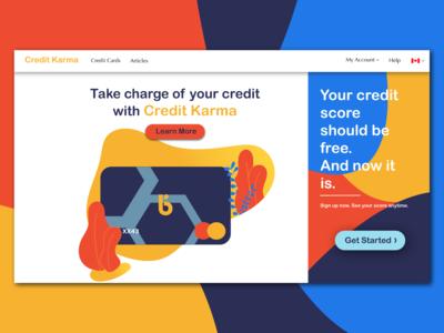 Credit Karma Redesign