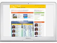 Sunny Rentals website