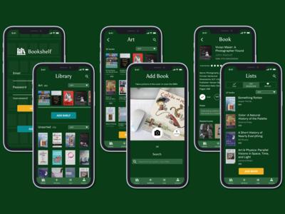 Bookshelf iOS Overview