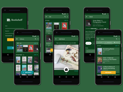 Bookshelf Android Overview