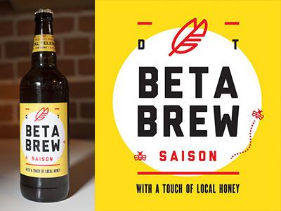 Digital Telepathy Beer Label 22oz digital telepathy culture beer label saison feather bee honey