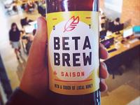 22 OZ Beta Brew Sticker