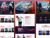 Fullscreen Marketing Site