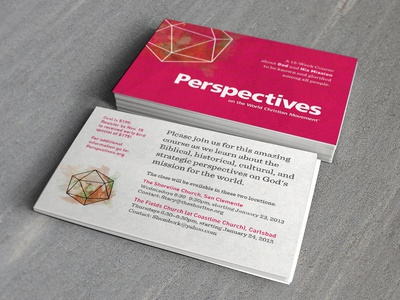 Perspectives Class Flyer