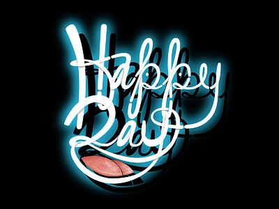 Happy Day! lettering magic illustration cartoon
