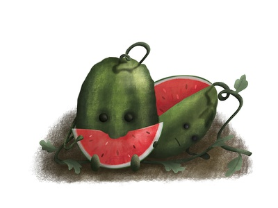 Laws of nature fruits videogames magic illustration conceptart cartoon